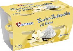 Neuburger Bourbon-Vanillepudding mit Sahne  (4 x 115 g) - 4036500004848