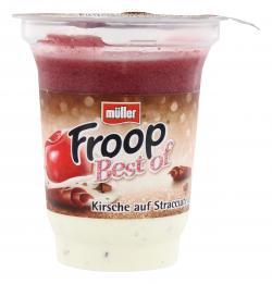 M�ller Froop Best of Kirsche auf Stracciatella  (150 g) - 4025500192914