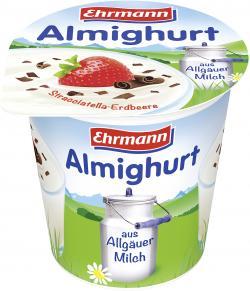 Ehrmann Almighurt Stracciatella-Erdbeere  (150 g) - 4002971014006
