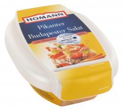 Homann Pikanter Budapester Salat mit Fleichbrät, Gurke & Apfel  (200 g) - 4030800198511