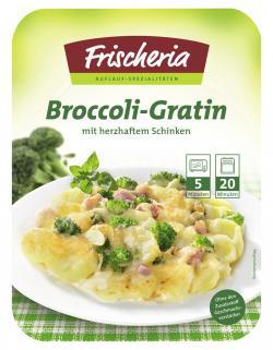Frischeria Broccoli-Gratin mit Schinken  (400 g) - 4006639134006