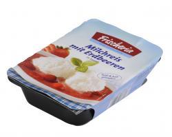 Frischeria Milchreis mit Erdbeeren  (400 g) - 4003082138704