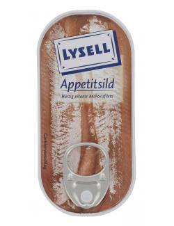 Lysell Appetitsild Anchovisfilets  (50 g) - 4039300054808