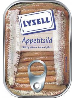 Lysell Appetitsild Anchovisfilets  (90 g) - 4039300054815