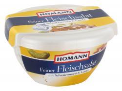 Homann Feiner Fleischsalat mit Schinkenwurst & Gurke  (400 g) - 4030800200580