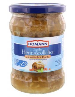Homann Gegrillte Heringsr�llchen mit Zwiebeln & Paprika  (262 g) - 4030800254064