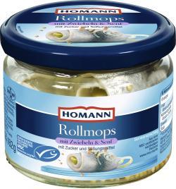 Homann Rollmops mit Meersalz  (162 g) - 4030800568543