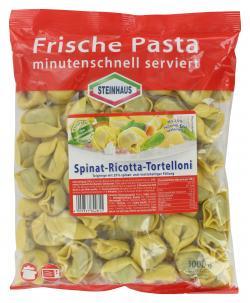 Steinhaus Spinat-Ricotta-Tortelloni  (1 kg) - 4009337842815