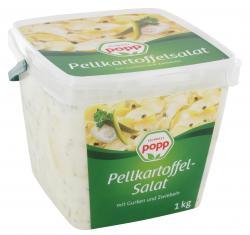 Popp Pellkartoffelsalat mit Gurken und Zwiebeln  (1 kg) - 4045800449013