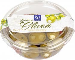 K�hlmann Gr�ne Oliven gef�llt mit Frischk�secreme  (150 g) - 4002268094308