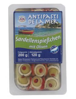Ehresmann Schlemmerli Sardellenspiesschen mit Oliven  (120 g) - 4104110005354