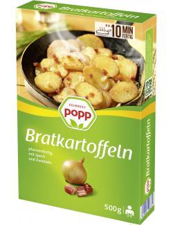 Popp Bratkartoffeln mit Speck und Zwiebeln  (500 g) - 4045800780727