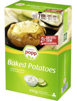 Popp Baked Potatoes mit Kartoffelcreme  (650 g) - 4006034116980