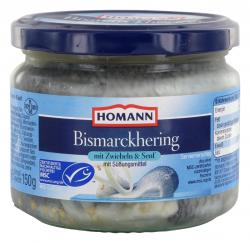 Homann Bismarckhering mit Zwiebeln & Senf  (162 g) - 4030800569533