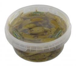 Feinkost Dittmann Antipasti fresh Pfefferonen gr�n  (240 g) - 4002239933803