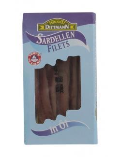 Feinkost Dittmann Sardellenfilets in Öl  (50 g) - 4002239220002