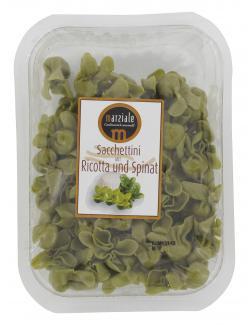 Marziale Sacchettini mit Ricotta und Spinat  (250 g) - 8021228410305