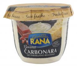 Giovanni Rana Frische Sauce Carbonara mit Parmigiano Raggiano  (200 g) - 8001665701730