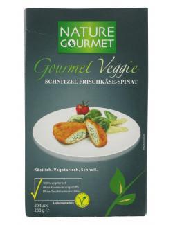 Nature Gourmet Veggie Schnitzel Frischkäse-Spinat  (200 g) - 7610745210270