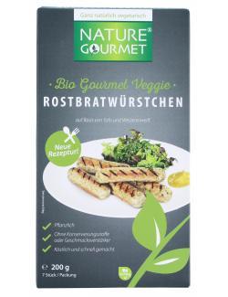 Nature Gourmet Veggie Rostbratwürstchen  (200 g) - 7610745210393