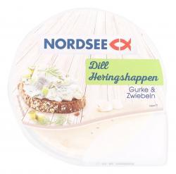 Nordsee Dill Heringshappen Gurke & Zwiebeln  (150 g) - 4030800017140