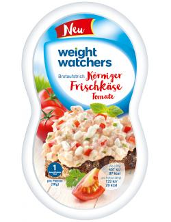 Weight Watchers K�rniger Frischk�se Tomate  (150 g) - 4051009007510