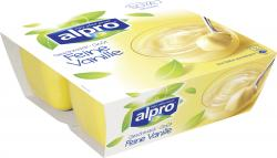 Alpro Soya Dessert feine Vanille  (4 x 125 g) - 54051140