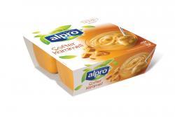 Alpro Soya Dessert Softer Karamell  (4 x 125 g) - 54051133