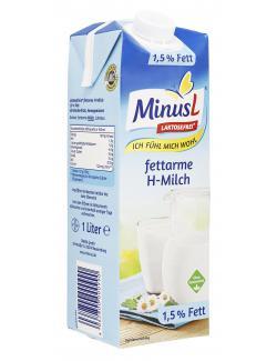 Minus L H-Milch 1,5%  (1 l) - 4062800000990