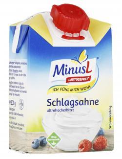 Minus L Schlagsahne 30%  (200 ml) - 4062800001508