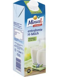Minus L H-Milch  0,3%  (1 l) - 4062800007999