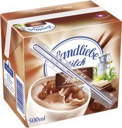 Landliebe Milch leckerer Genuss mit Schoko  (500 ml) - 4040600299554