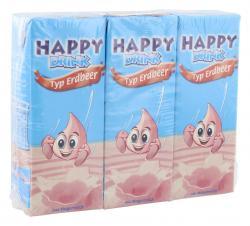 Happy Drink Erdbeere  (3 x 0,20 l) - 4003490039396