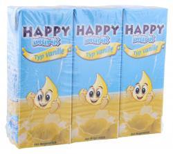 Happy Drink Vanille  (3 x 0,20 l) - 4003490039389