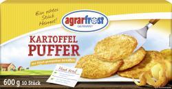 Agrarfrost Kartoffelpuffer  (600 g) - 4003880007080