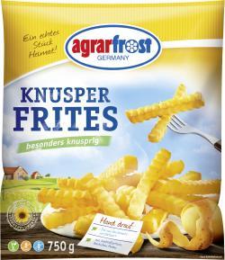 Agrarfrost Knusper Frites Wellenschnitt  (750 g) - 4003880005253