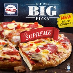 Original Wagner Big Pizza Supreme  (410 g) - 4009233012206