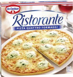 Dr. Oetker Ristorante Pizza Quattro Formaggi  (340 g) - 4001724818908