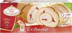 Coppenrath & Wiese Sahne-Rolle Erdbeere  (400 g) - 4008577000269