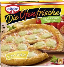 Dr. Oetker Die Ofenfrische Pizza Vier-Käse  (410 g) - 4001724011118