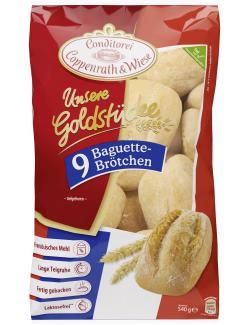 Coppenrath & Wiese Unsere Goldstücke Baguettebrötchen  (9 St.) - 4008577006094