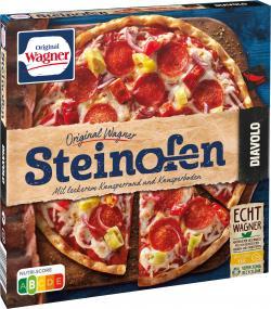 Original Wagner Steinofen Pizza Diavolo  (350 g) - 4009233003655