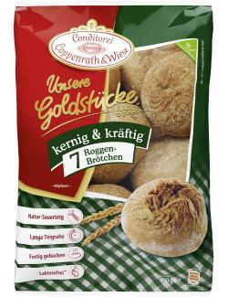 Coppenrath & Wiese Unsere Goldstücke Bio-Roggenbrötchen  (420 g) - 4008577006179