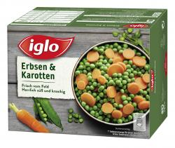 Iglo FeldFrisch Erbsen & Karotten  (540 g) - 4056100043627
