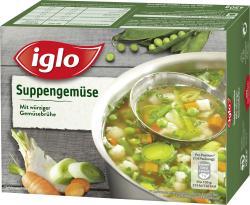 Iglo Suppengem�se mit Gem�sebr�he  (450 g) - 4056100043542