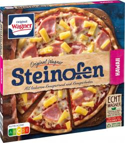 Original Wagner Steinofen Pizza Hawaii  (380 g) - 4009233003907