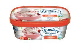 Landliebe Eiscreme Erdbeer  (750 ml) - 4007993000686