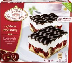 Coppenrath & Wiese Cafeteria fein & sahnig Donauwelle  (550 g) - 4008577020311