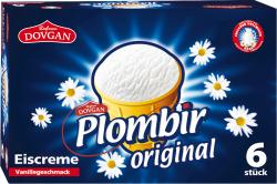 Dovgan Plombir Original Eiscreme Vanillegeschmack  (6 x 120 ml) - 4032549002067