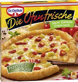 Dr. Oetker Die Ofenfrische Pizza Peperoni-3 K�se  (405 g) - 4001724002604